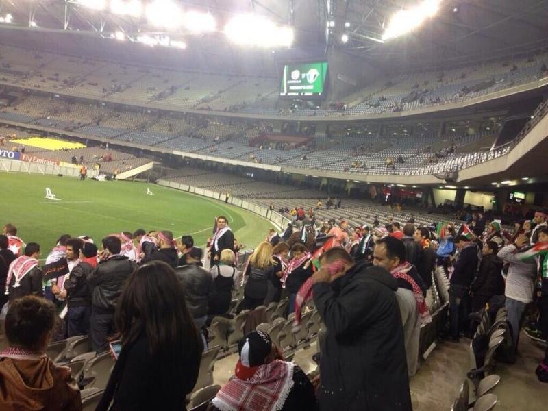 #TFsport صور ماقبل مباراة النشامى مع استراليا9