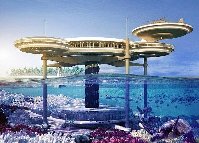 فندق تحت البحر في #دبي - صورة 1