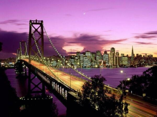 Beautiful Sunset San Francisco