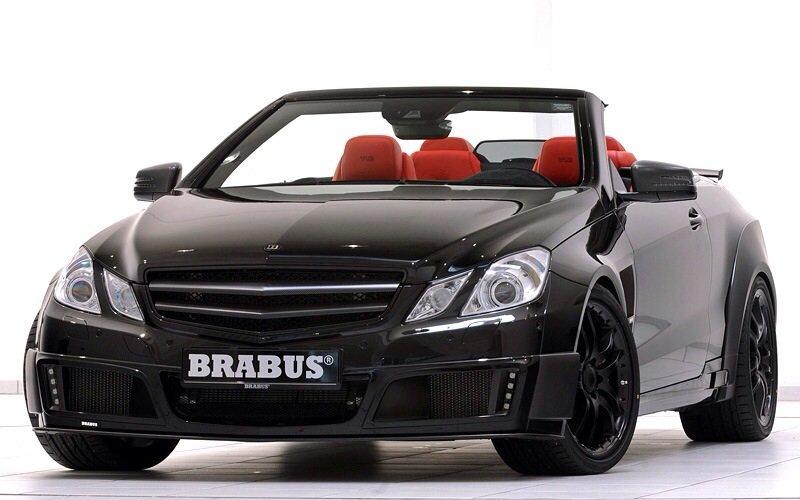 Mercedes-Benz Brabus E V12 Cabriolet - front shot