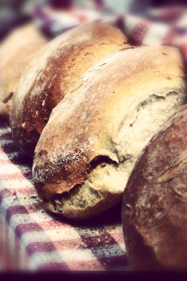 رغيف خبز مصور بكاميرا #Nikon