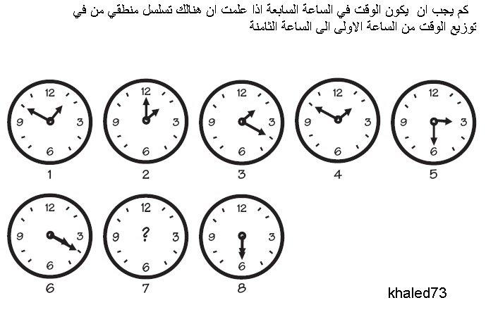 #للأذكياء_فقط احزر كم الساعة !!