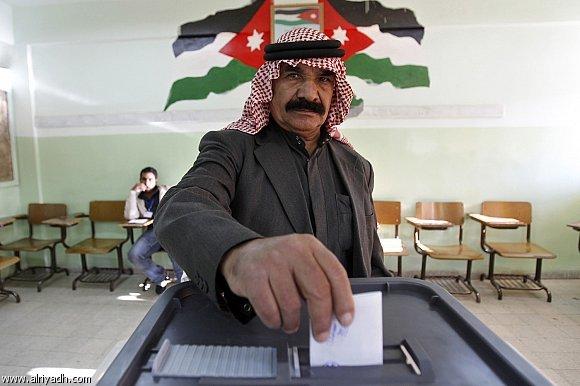 صور من تصويت الانتخابات في #الأردن - صورة 1