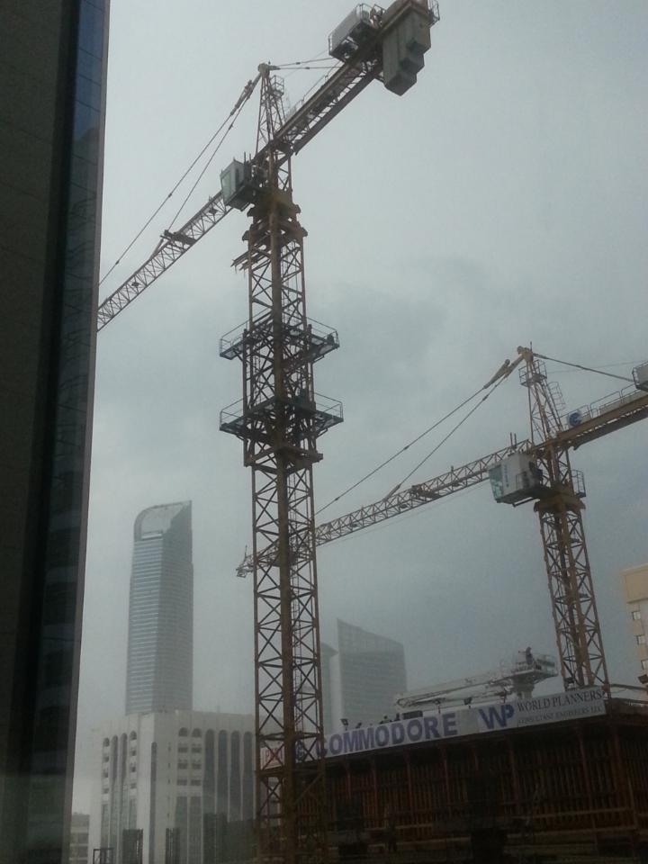 الجو الغائم في #أبوظبي 1