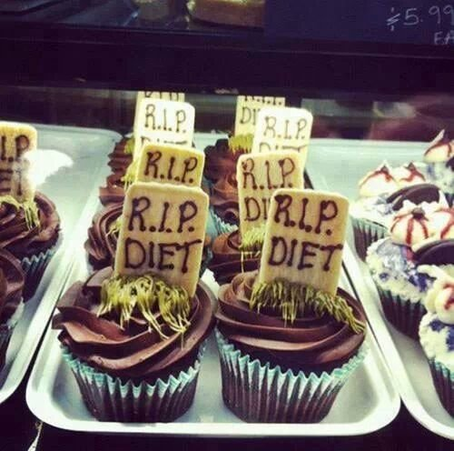 R.I.P diet cup cakes