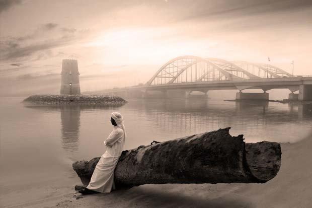 صورة رائعة لجسر المقطع في #أبوظبي