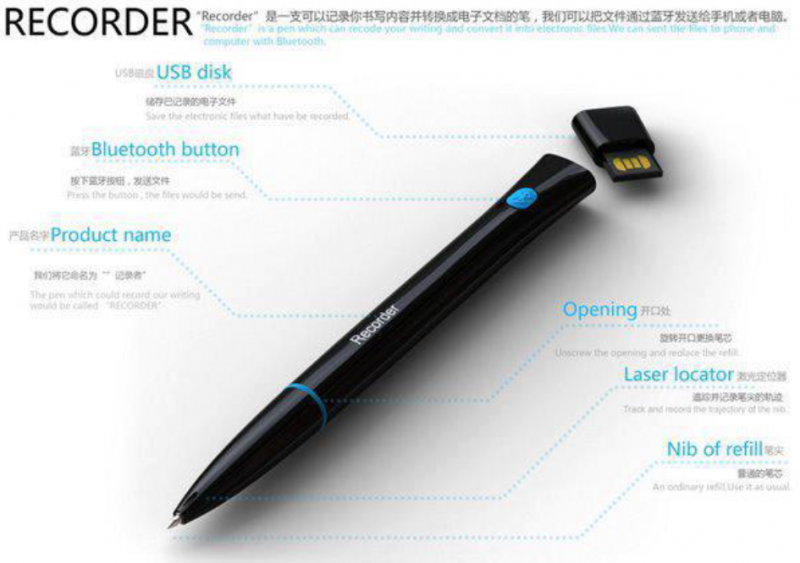 Recorder - The magic pen