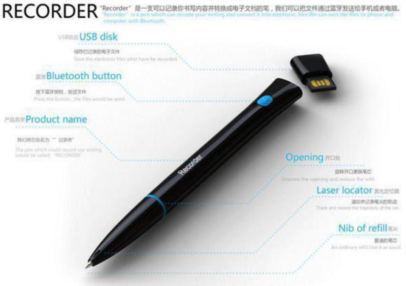 Recorder - The magic pen