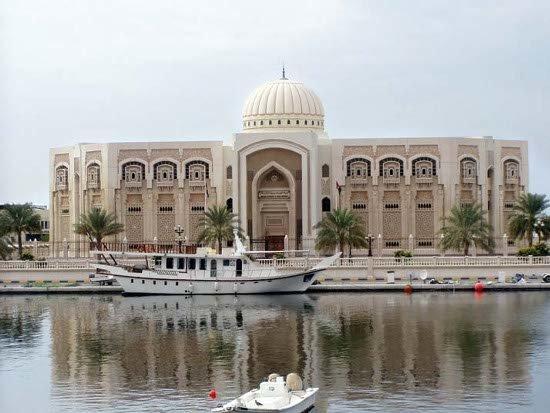 مبنى بلدية #الشارقة #الإمارات