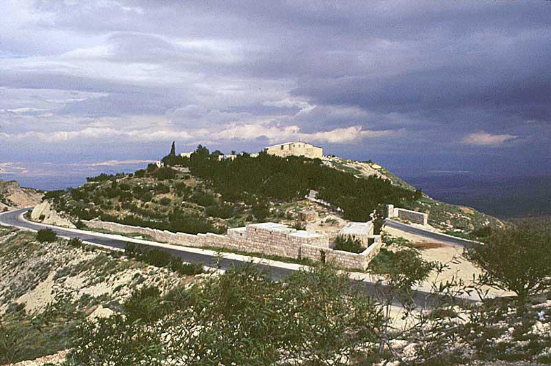 جبل نيبو في #مادبا #الأردن