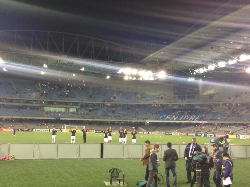 #TFsport صور ماقبل مباراة النشامى مع استراليا 6