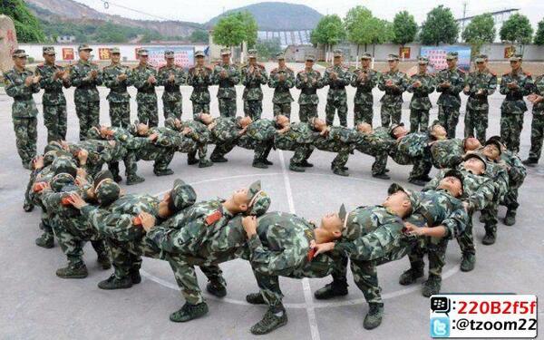 إحدى تدريبات الجيش #الصيني