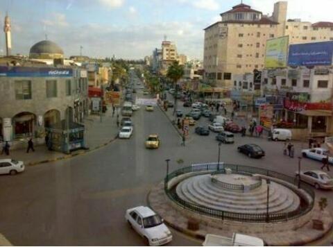 شارع الجامعة في #إربد #الأردن