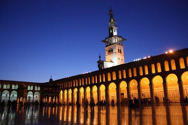 اجمل مساجد العالم المسجد الاموي دمشق سوريا