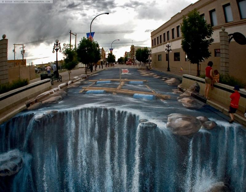 رسومات شوارع ثلاثية الأبعاد - صورة 5