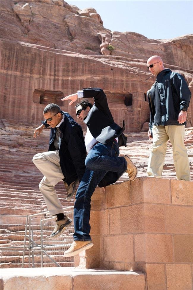 Obama in #Jordan #Funny