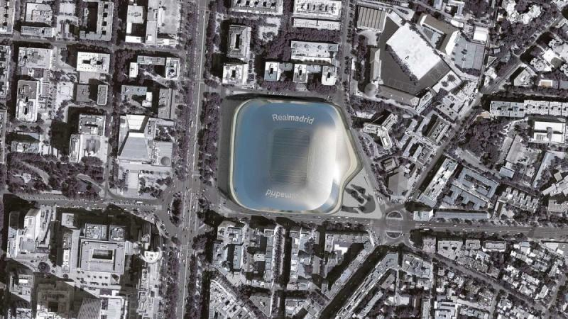 New Santiago Bernabéu Stadium - architecture, design, art, interior