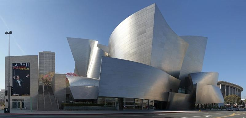Disney Concert Hall by Frank Gehry - architecture, design, art, interior
