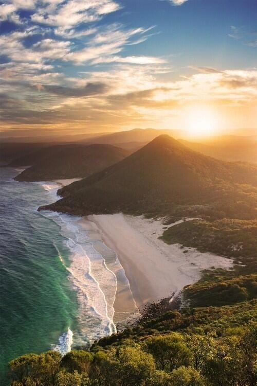 Zenith Beach ~ New South Wales, Australia