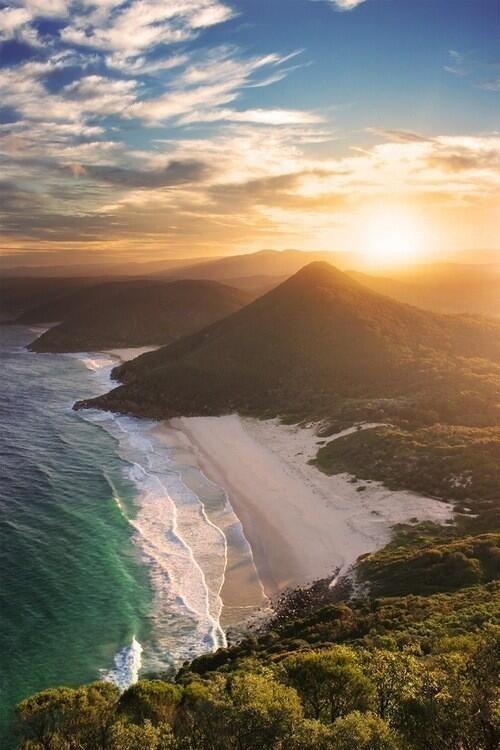 Zenith Beach ~ New South Wales, Australia