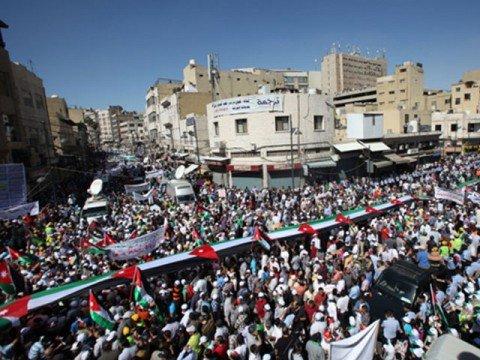 islamists protests in Jordan