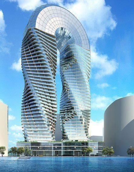 DNA Towers in AbuDhabi