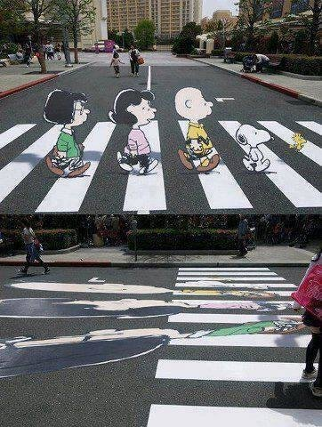 Amazing Illusion To Slow Down Drivers