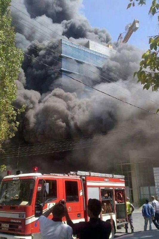 انفجار في تسوية مبنى قيد الانشاء تابع لمستشفى فرح في عمان