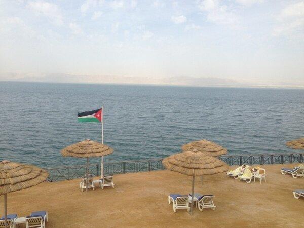 البحر الميت في #الأردن - صورة 2