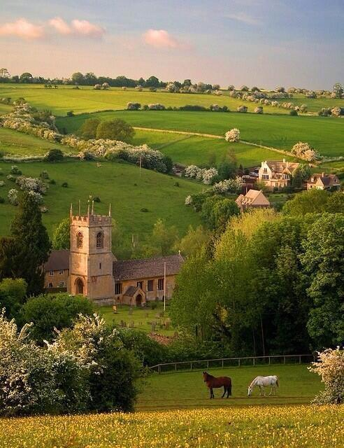Summer in the Cotswolds ~ England