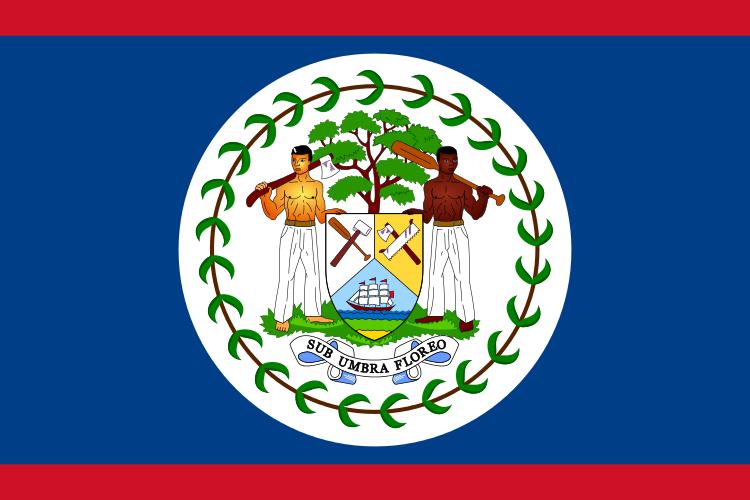 علم دولة بليز