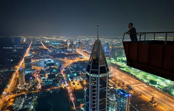 اطلالة عالية على ابراج شارع #الشيخ_زايد في دبي
