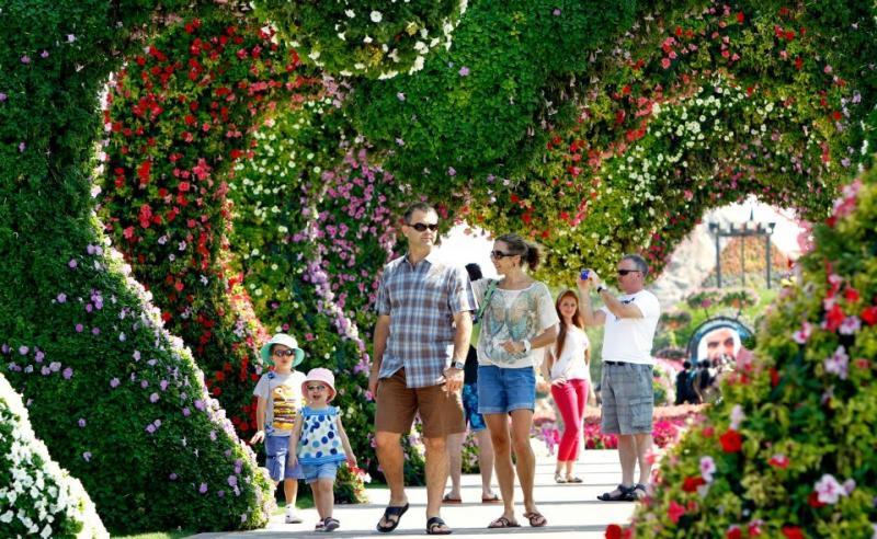 Dubai Miracle Gardens #دبي ميراكل - صورة 16