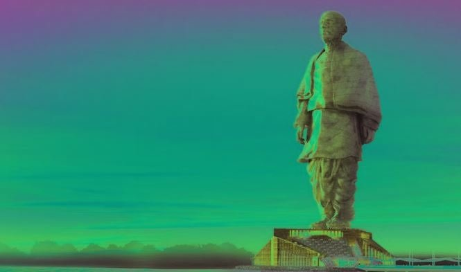 The statue of Sardar Patel in #India, is set to be twice the size of the Statue of Liberty and will