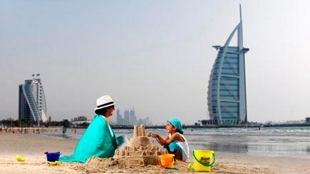 شاطئ جميرا في #دبي