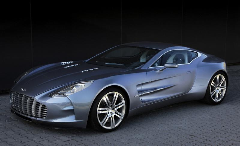 Aston Martin One-77 Most Expensive Super Cars