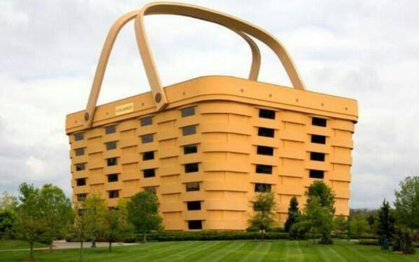 مبنى على شكل السلة .. أوهايو - أمريكا ..