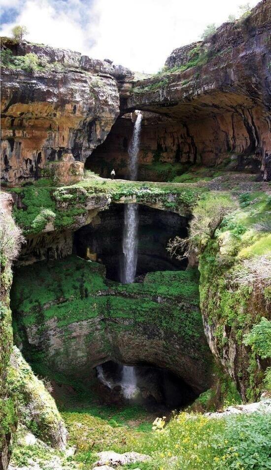 Balaa Sinkhole, #Lebanon