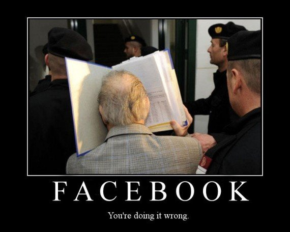 you are doing #Facebook wrong