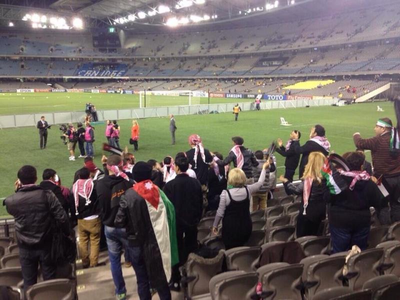 #TFsport صور ماقبل مباراة النشامى مع استراليا 10