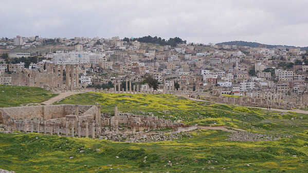 صور منوعة لمدينة #جرش في #الأردن - صورة 11