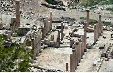 آثار منطقة قويلبة في حرثا #إربد #الأردن