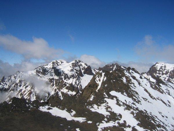 أعلى قمة جبلية في الوطن العربي - قمة طوبقال في المغرب -