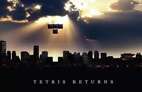 اعلان إعادة طرح لعبة تيترس #تسويق #اعلان