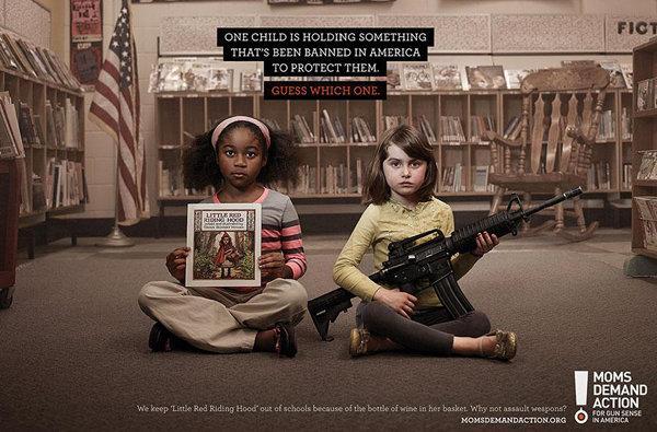 اعلانات مطبوعة مبدعة - الأطفال والعنف3 #اعلان
