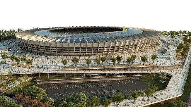 كاس العالم 2014-ستاد-Estadio Mineirao - Belo Horizonte