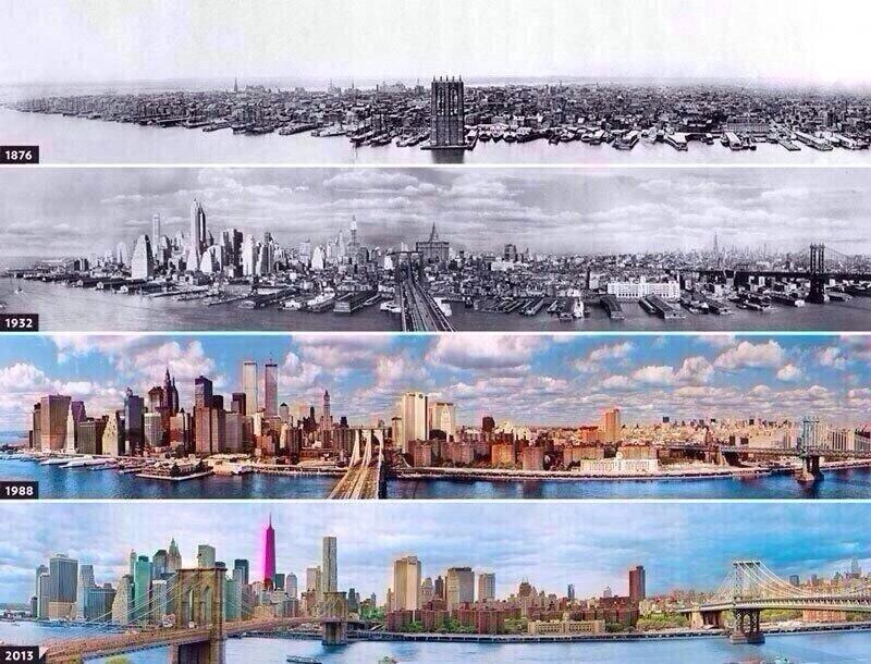 مدينة نيويورك في قرن