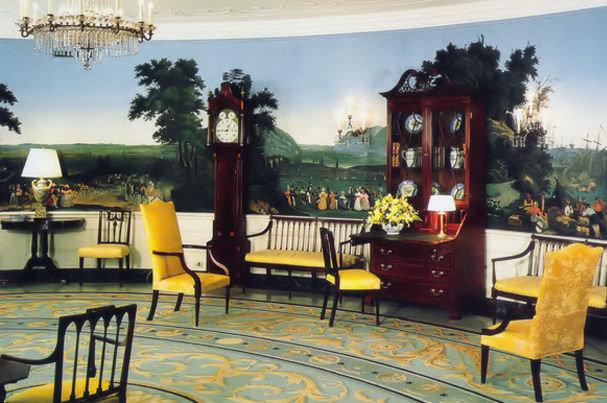 البيت الابيض-غرفة استقبال الضيوف الرسميين