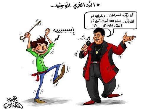 الرد العربي الوحيد