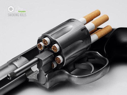 حملات تسويقية مبدعة لوقف التدخين #اعلان #تسويق